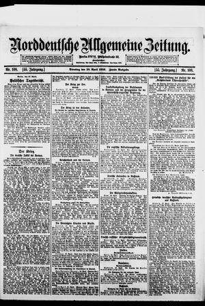 Norddeutsche allgemeine Zeitung on Apr 18, 1916