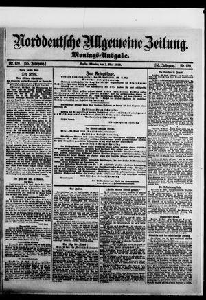 Norddeutsche allgemeine Zeitung vom 01.05.1916
