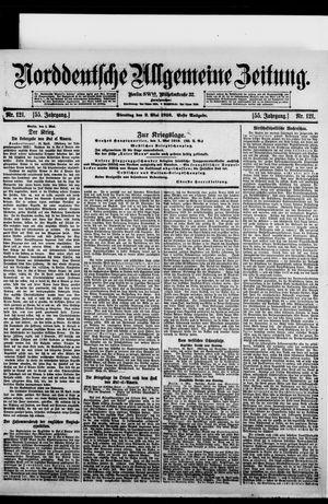 Norddeutsche allgemeine Zeitung vom 02.05.1916