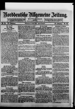 Norddeutsche allgemeine Zeitung vom 03.05.1916