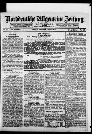 Norddeutsche allgemeine Zeitung vom 05.05.1916