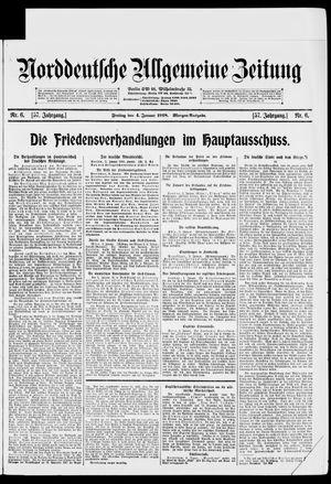 Norddeutsche allgemeine Zeitung vom 04.01.1918