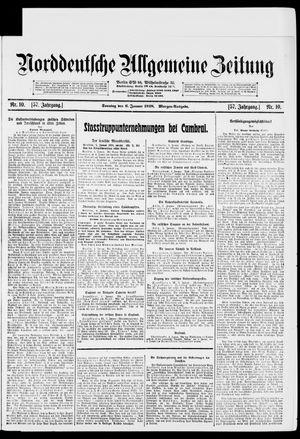 Norddeutsche allgemeine Zeitung vom 06.01.1918