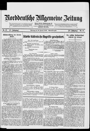 Norddeutsche allgemeine Zeitung vom 15.01.1918