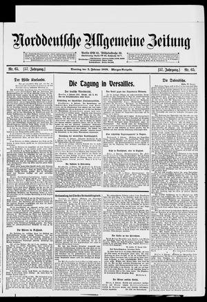 Norddeutsche allgemeine Zeitung vom 05.02.1918