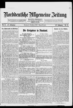 Norddeutsche allgemeine Zeitung vom 10.02.1918