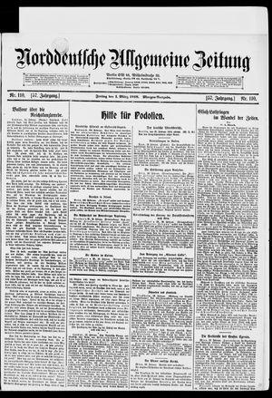 Norddeutsche allgemeine Zeitung vom 01.03.1918