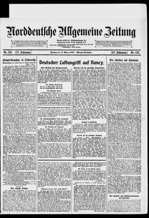 Norddeutsche allgemeine Zeitung vom 08.03.1918