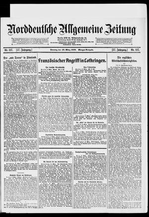 Norddeutsche allgemeine Zeitung vom 10.03.1918