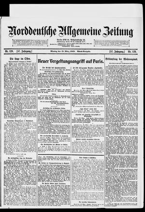 Norddeutsche allgemeine Zeitung vom 11.03.1918