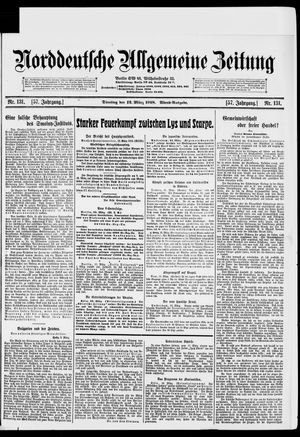 Norddeutsche allgemeine Zeitung vom 12.03.1918