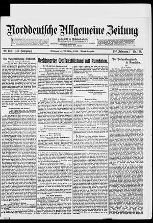 Norddeutsche allgemeine Zeitung vom 20.03.1918