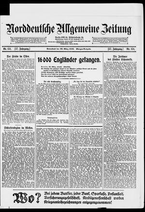 Norddeutsche allgemeine Zeitung vom 23.03.1918