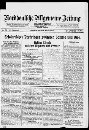 Norddeutsche allgemeine Zeitung vom 26.03.1918