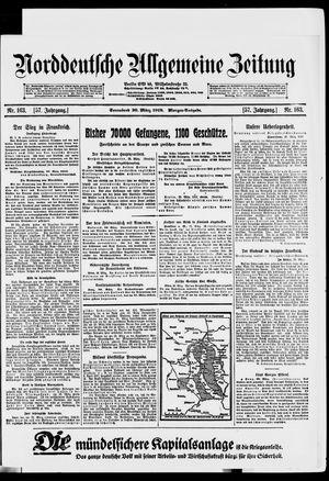 Norddeutsche allgemeine Zeitung vom 30.03.1918