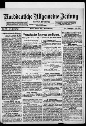 Norddeutsche allgemeine Zeitung vom 02.04.1918