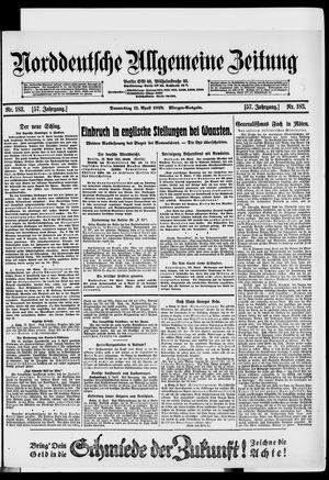 Norddeutsche allgemeine Zeitung vom 11.04.1918