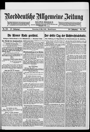 Norddeutsche allgemeine Zeitung vom 02.05.1918