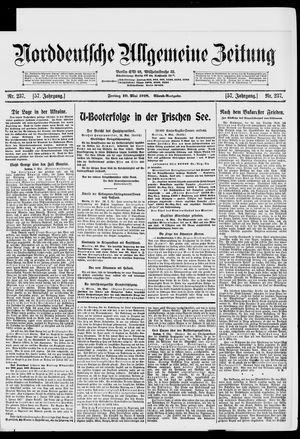Norddeutsche allgemeine Zeitung on May 10, 1918
