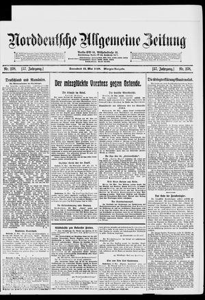Norddeutsche allgemeine Zeitung vom 11.05.1918