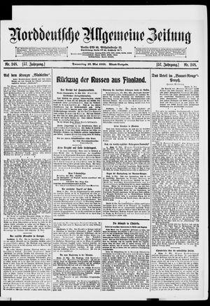 Norddeutsche allgemeine Zeitung on May 16, 1918