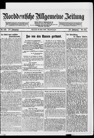 Norddeutsche allgemeine Zeitung vom 18.05.1918