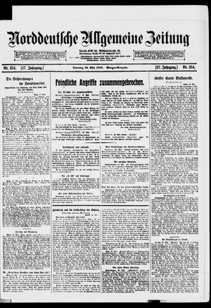 Norddeutsche allgemeine Zeitung vom 21.05.1918