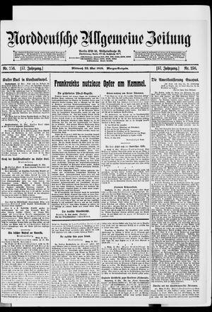 Norddeutsche allgemeine Zeitung vom 22.05.1918