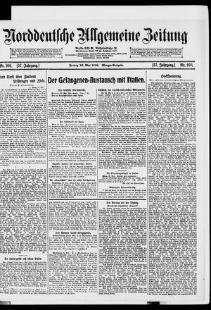 Norddeutsche allgemeine Zeitung on May 24, 1918