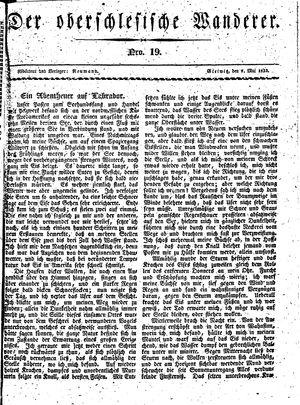 ˜Derœ Oberschlesische Wanderer vom 07.05.1833