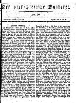 ˜Derœ Oberschlesische Wanderer vom 14.05.1833