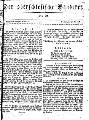 ˜Derœ Oberschlesische Wanderer vom 28.05.1833