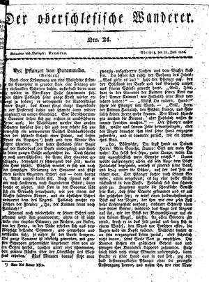 ˜Derœ Oberschlesische Wanderer vom 11.06.1833