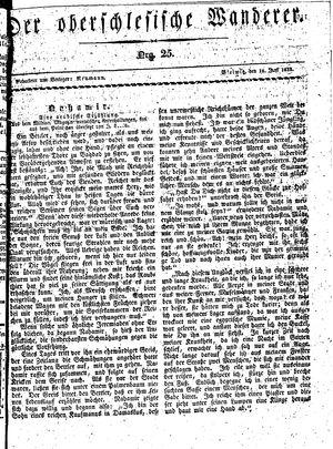 ˜Derœ Oberschlesische Wanderer vom 18.06.1833
