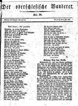 ˜Derœ Oberschlesische Wanderer vom 09.07.1833