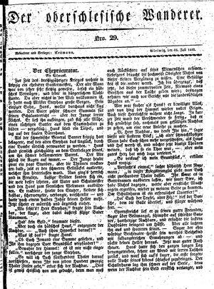 ˜Derœ Oberschlesische Wanderer vom 15.07.1833