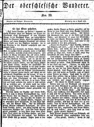 ˜Derœ Oberschlesische Wanderer vom 05.08.1833