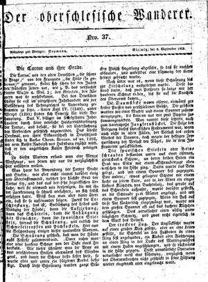 ˜Derœ Oberschlesische Wanderer vom 09.09.1833