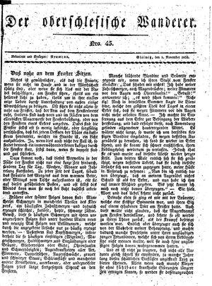 ˜Derœ Oberschlesische Wanderer vom 05.11.1833