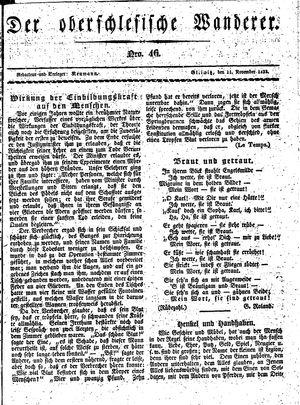 ˜Derœ Oberschlesische Wanderer vom 11.11.1833