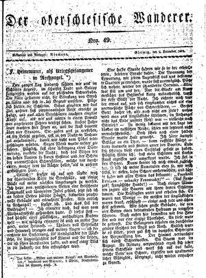 ˜Derœ Oberschlesische Wanderer vom 02.12.1833