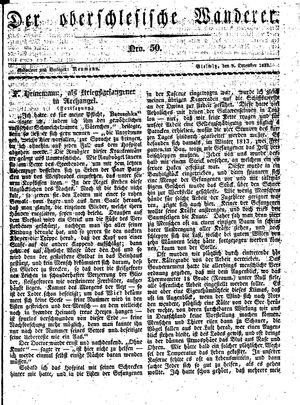 ˜Derœ Oberschlesische Wanderer vom 09.12.1833