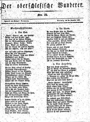 ˜Derœ Oberschlesische Wanderer vom 23.12.1833