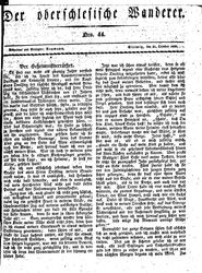 Der oberschlesische Wanderer (31.10.1836)
