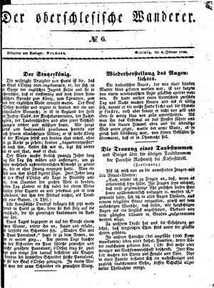 ˜Derœ Oberschlesische Wanderer vom 04.02.1840
