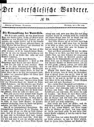 ˜Derœ Oberschlesische Wanderer on May 5, 1840