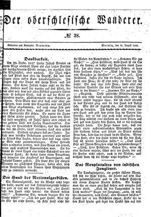 ˜Derœ Oberschlesische Wanderer on Aug 25, 1840