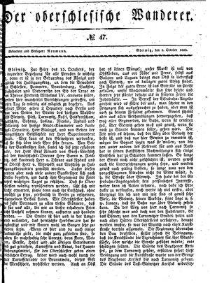 ˜Derœ Oberschlesische Wanderer vom 06.10.1840