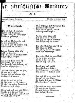 ˜Derœ Oberschlesische Wanderer vom 05.01.1841