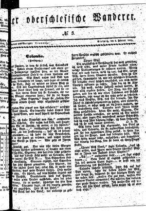 ˜Derœ Oberschlesische Wanderer vom 02.02.1841